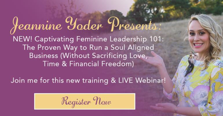 Captivating Feminine Leadership Training
