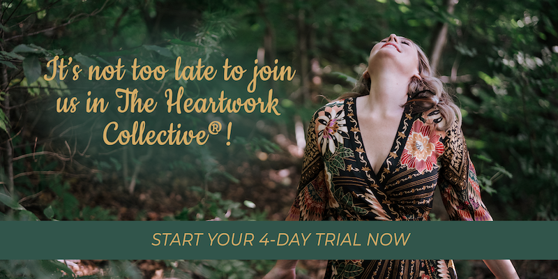 It's not too late to join us in The Heartwork Collective.